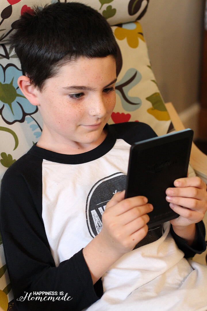 Reading on the Kindle