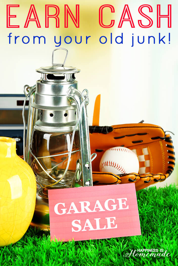 Earn cash for your old junk by throwing a profitable and successful garage sale. Here's how to do it!