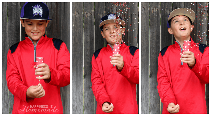 4th of July Fun with DIY Confetti Popper Launchers