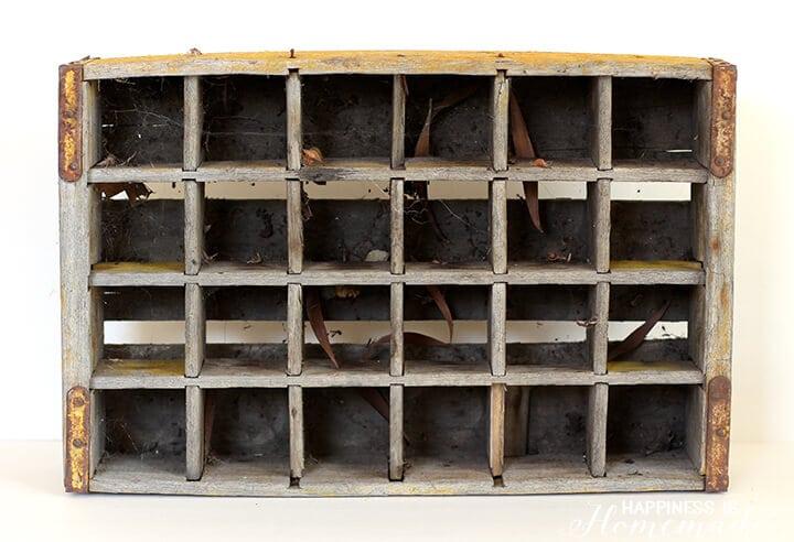 Dirty Old Vintage Coca Cola Soda Crate