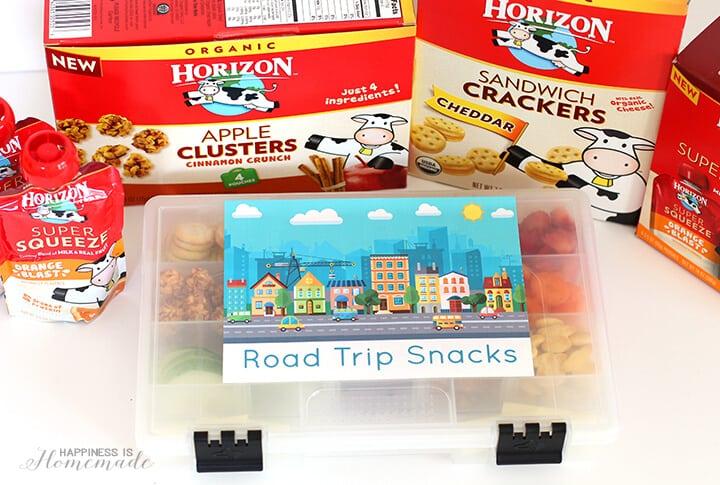 Horizon Organic Snacks On the Go