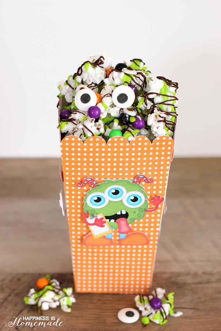 Monster Munch Halloween Popcorn Mix Snack Treat
