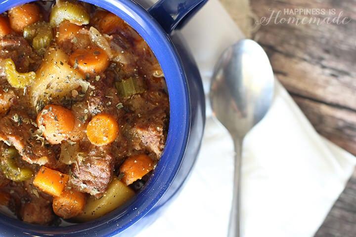 Slow Cooker Rustic Beef Stew Recipe