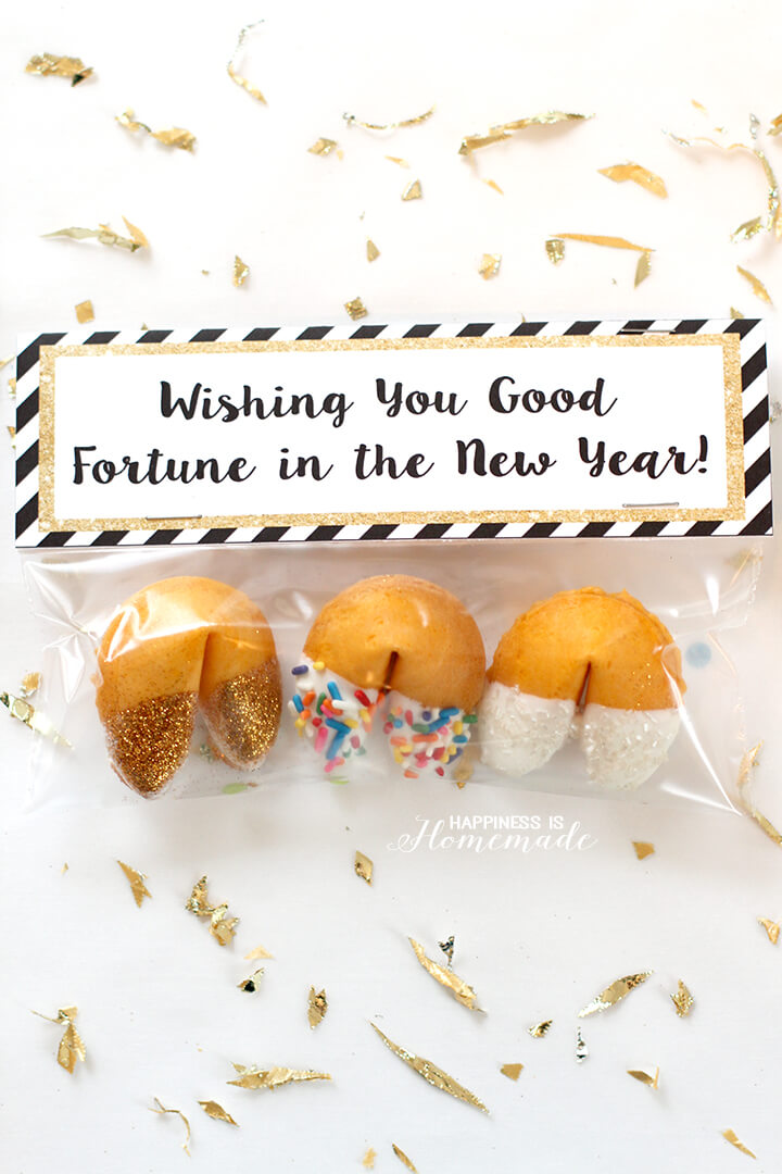 New Years Fortune Cookie Party Favors