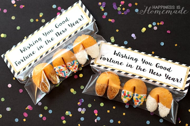 Wishing You Good Fortune in the New Year Cookie Party Favors