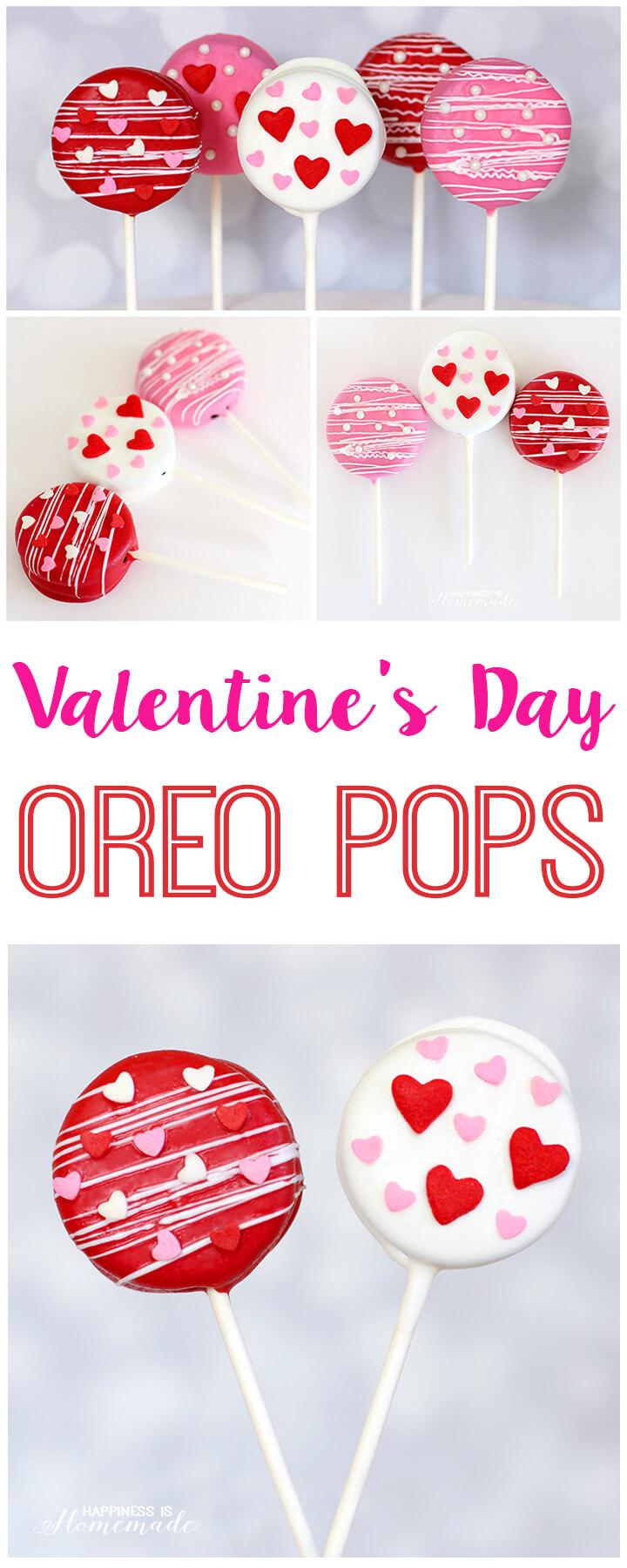 Super Cute Valentine's Day Oreo Pops Treat