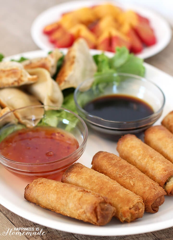 Ling Ling Potstickers and Rolls for Chinese New Year