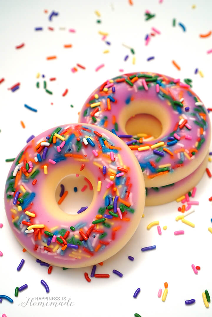 How to Make Donut Shaped and Scented Soap