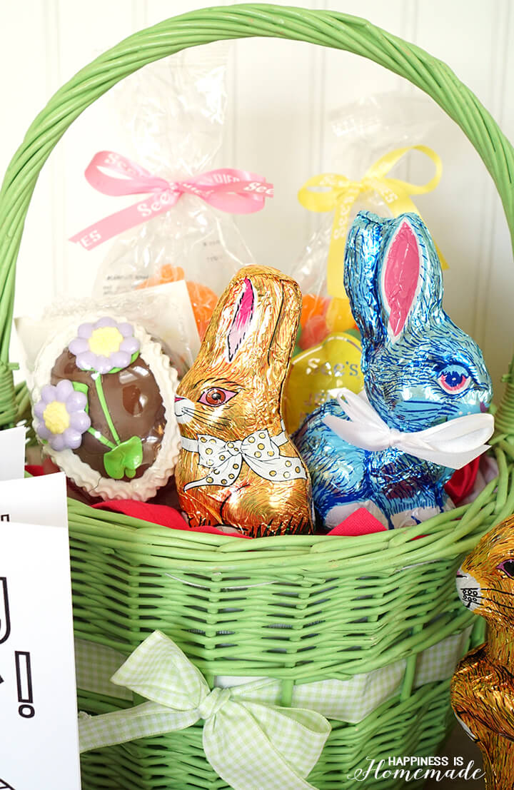 See's Candy Easter Basket Goodies