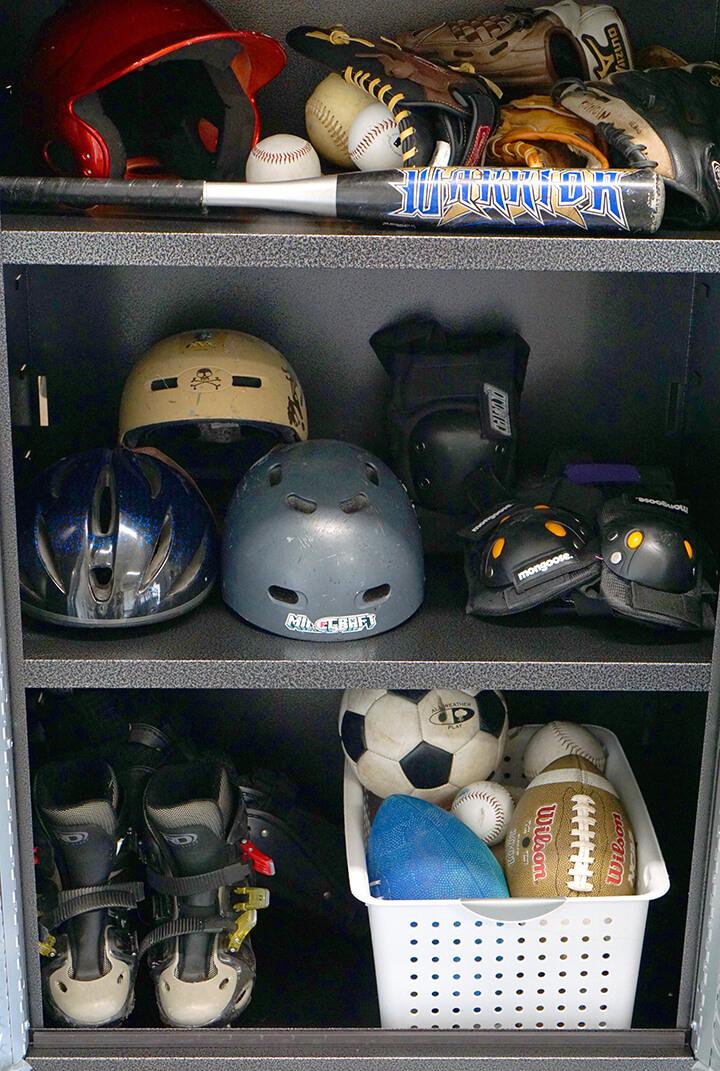 Sports Equipment Garage Cabinet by Gladiator GarageWorks