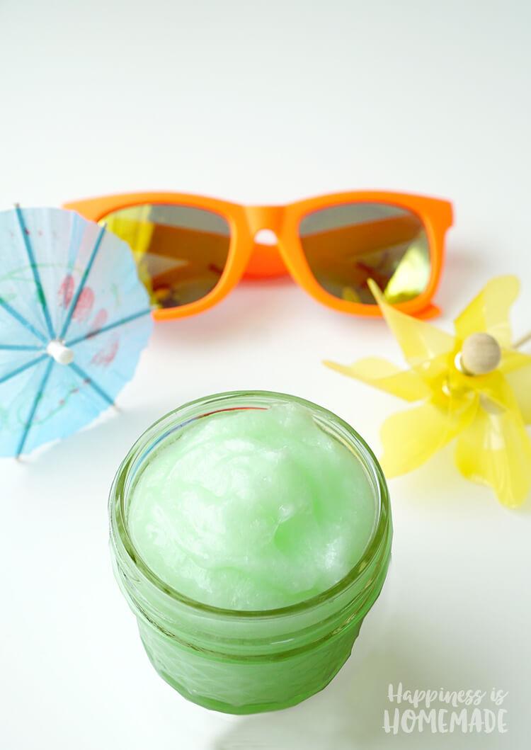 DIY Natural Healing and Cooling Sunburn Cream Salve