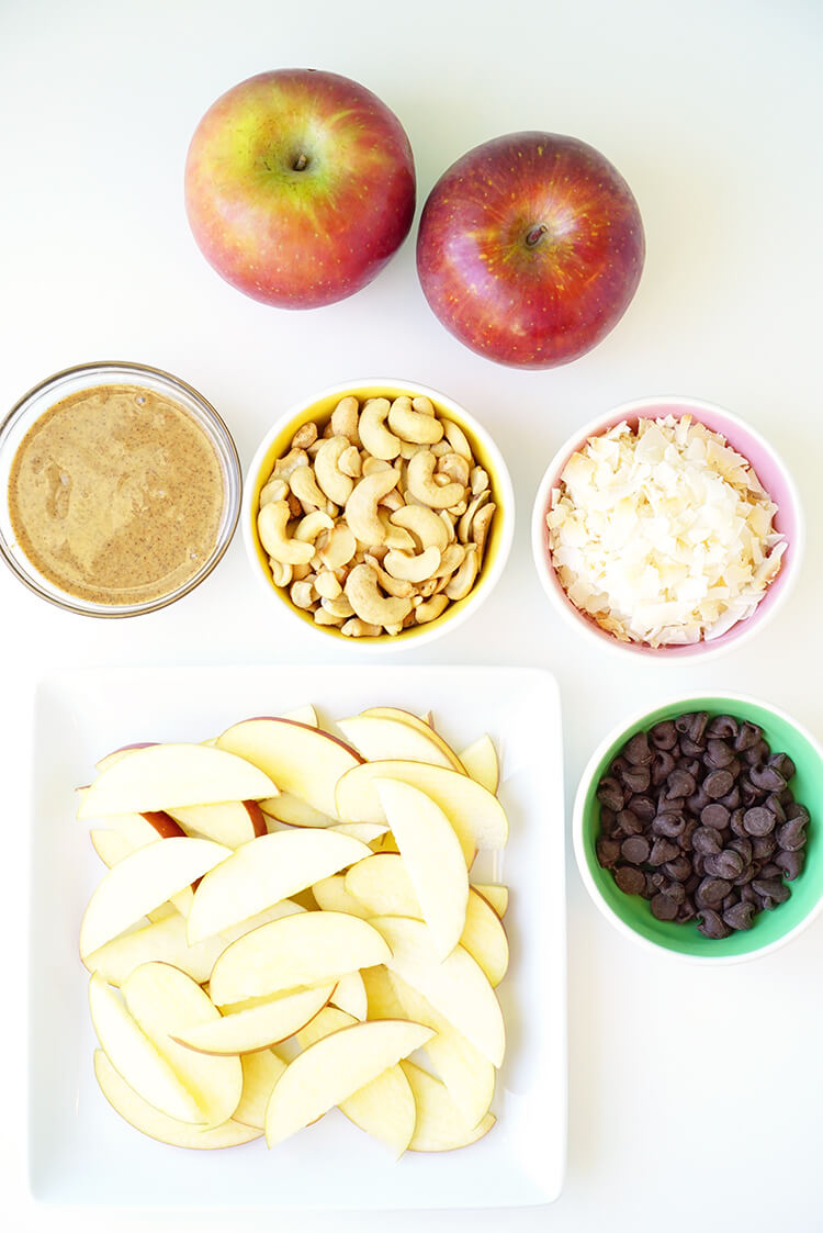 How to Make Apple Nachos for a Healthy After School Snack