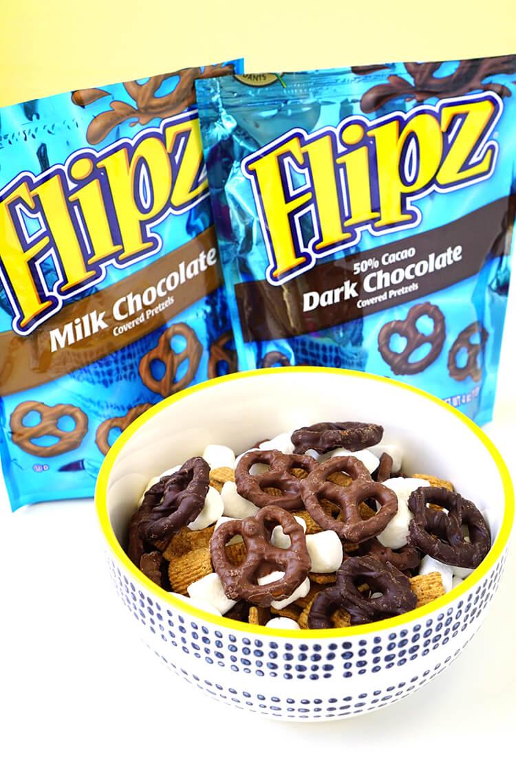 S'mores Flipz Road Trip Snack Mix