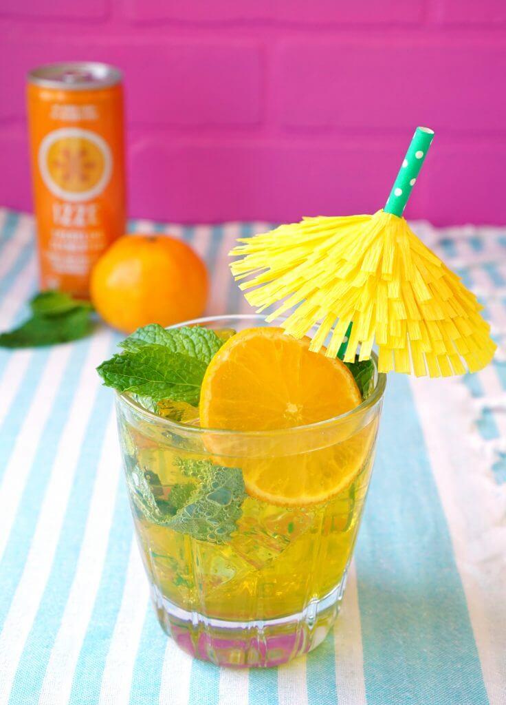 Clementine Mojito Cocktail