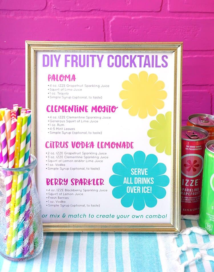 IZZE Cocktail Recipes