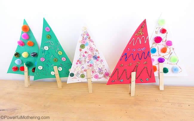 mini-christmas-trees-for-fine-motor-skills