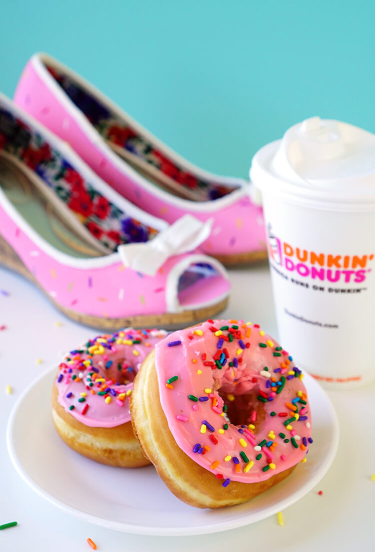 sprinkled-dunkin-donuts-and-adorable-sprinkle-donut-shoes