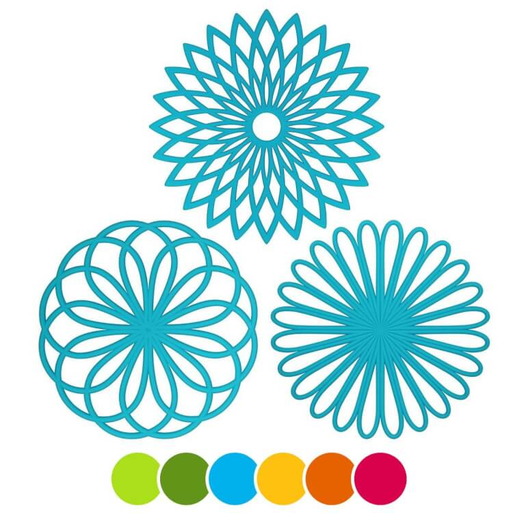 silicone-flower-trivets