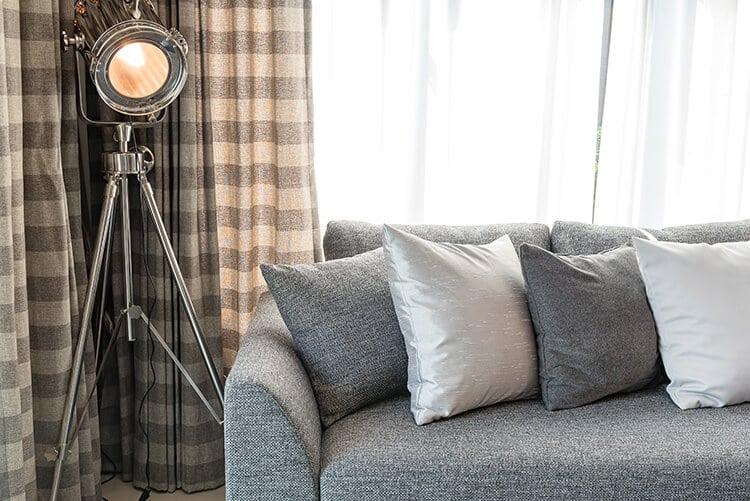 Wash pillows and curtains regularly