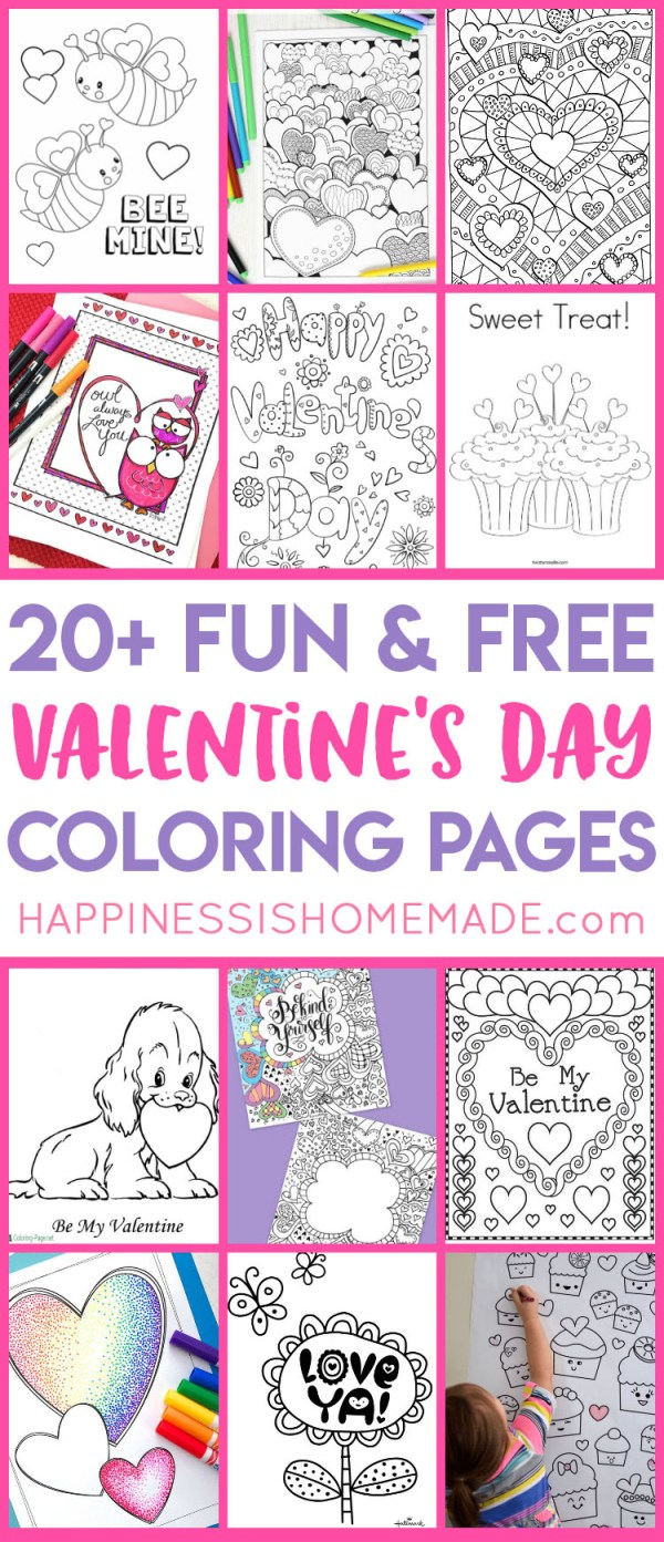 coloring pages for valentines day printable # 78