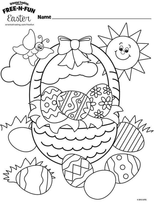 easter coloring pages free # 3