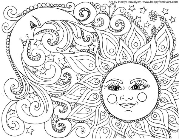 coloring pages to print for adults # 2