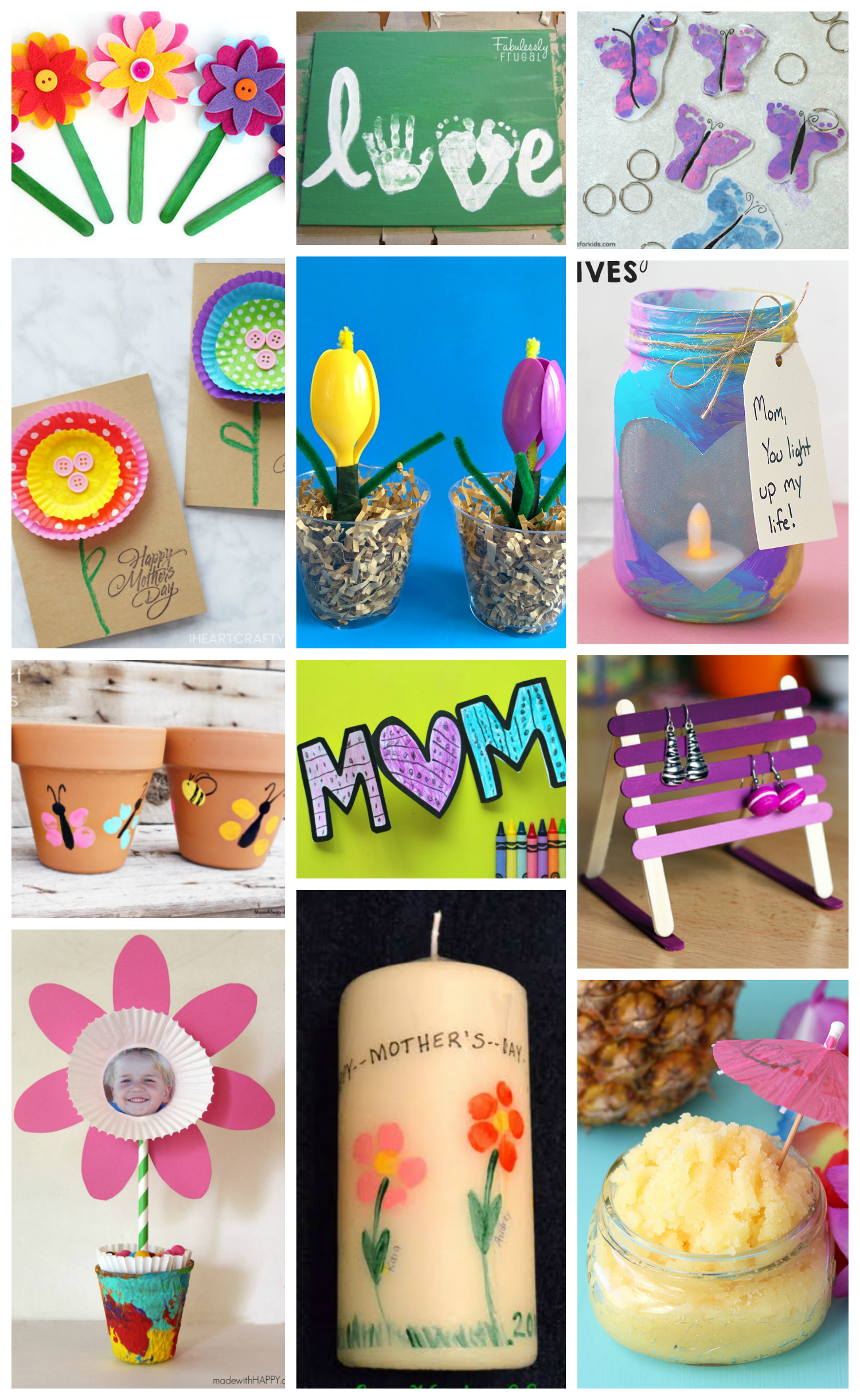 Toddler Crafts Ideas For Mother S Day