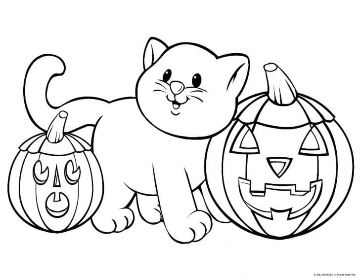 Halloween Cartoon Coloring Pages.Free Halloween Coloring Pages For Adults Kids Happiness Is Homemade