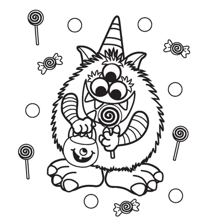 FREE Halloween Coloring Pages For Adults & Kids - Happiness Is Homemade
