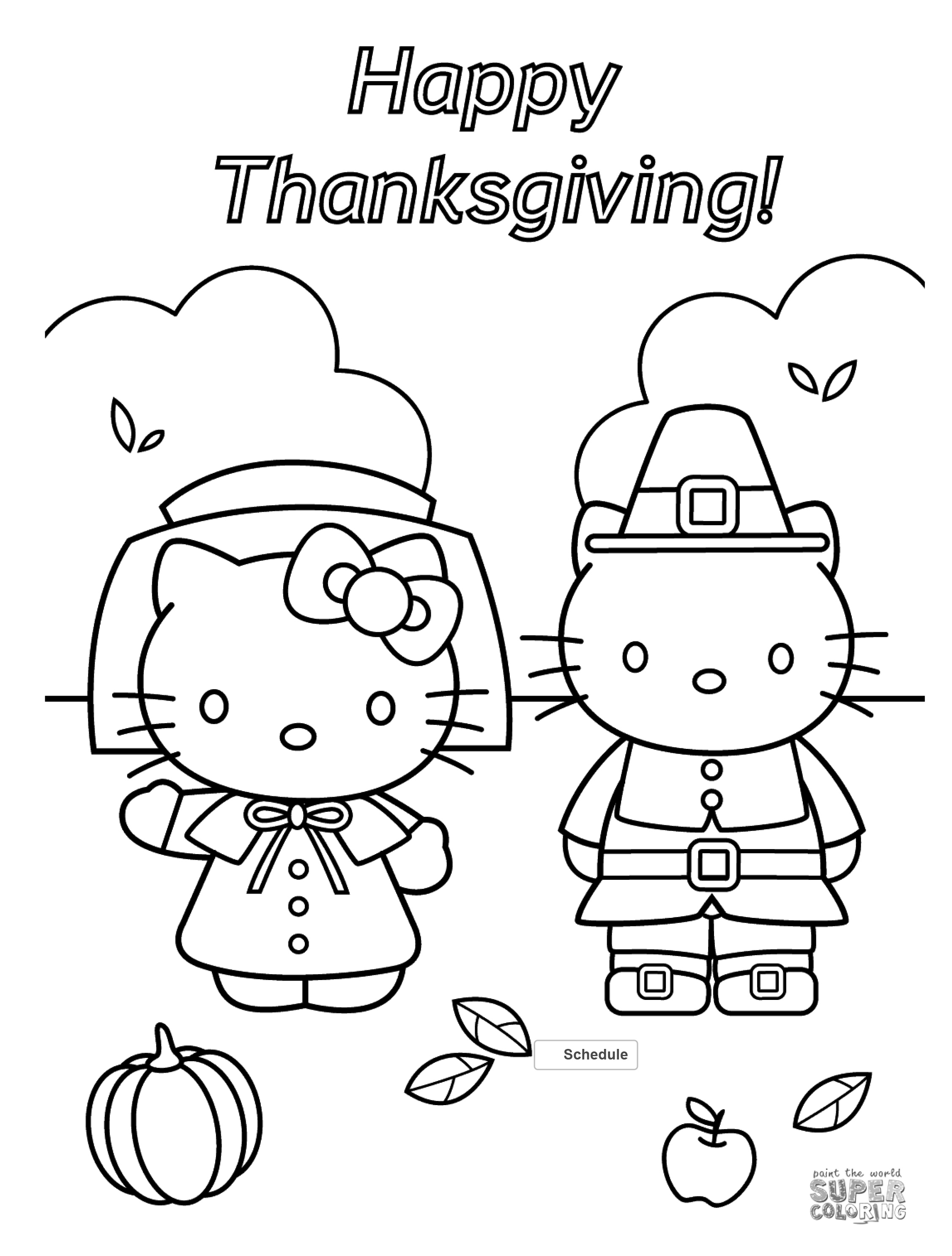 Free Thanksgiving Coloring Pages For Adults Kids Happiness Is Homemade