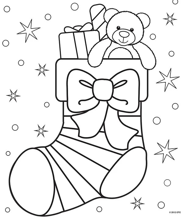 christmas coloring pages printable free # 3