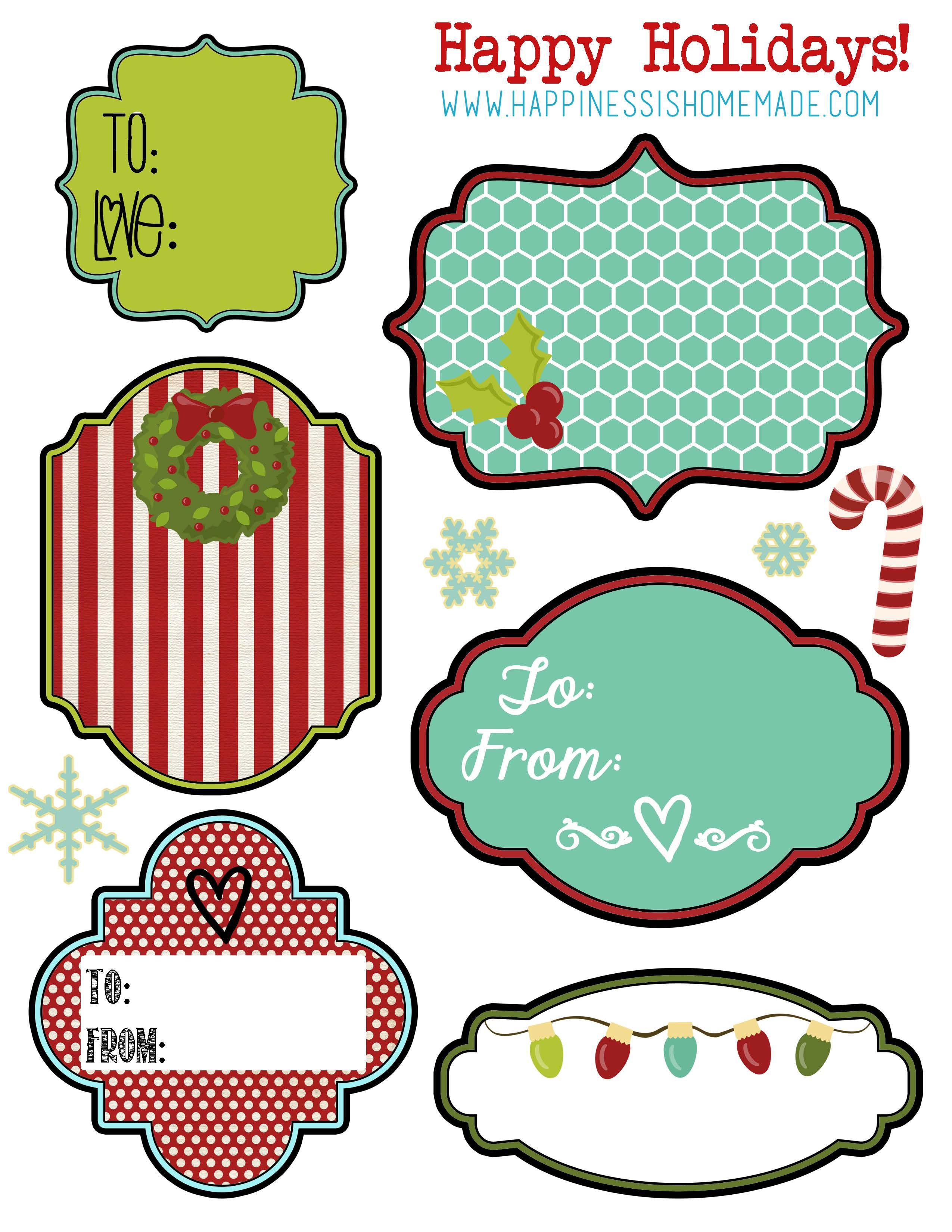 Printable-Holiday-Tags