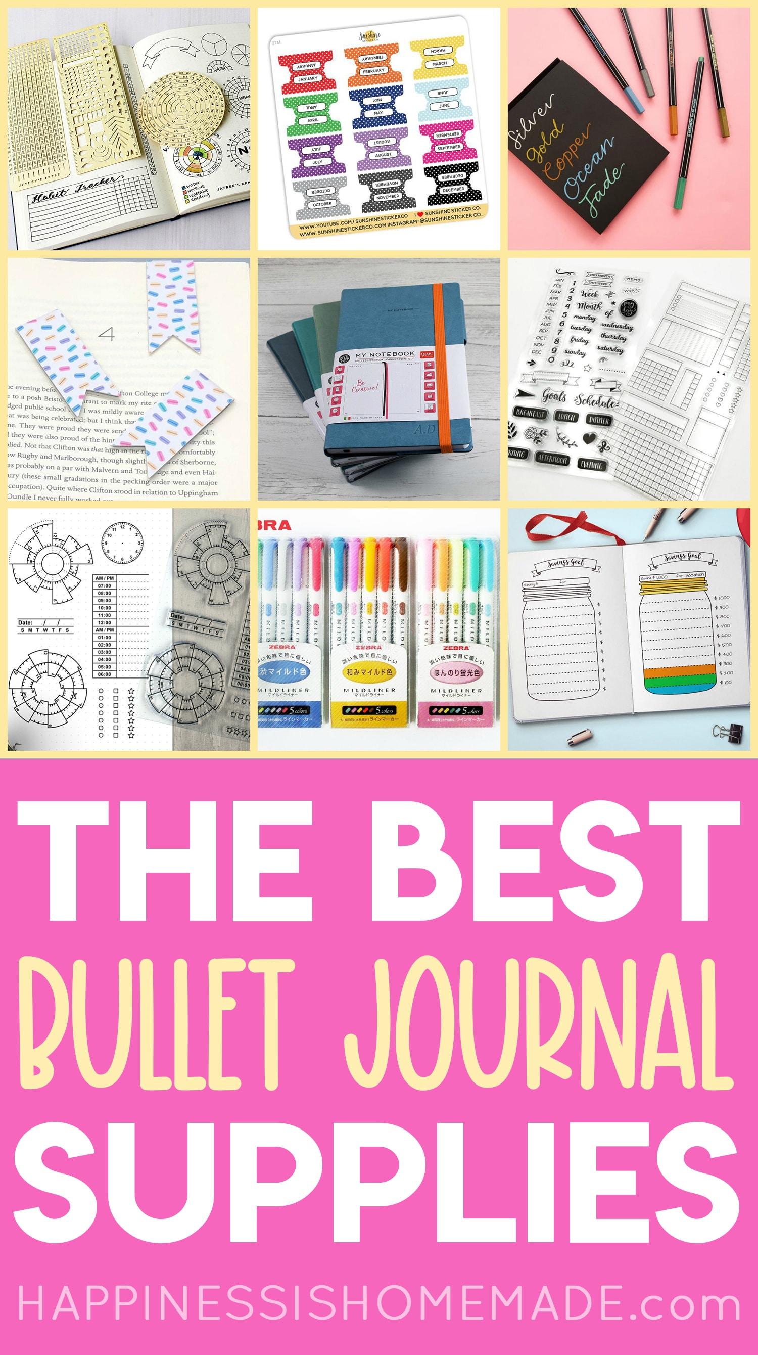 The Best Bullet Journal Supplies