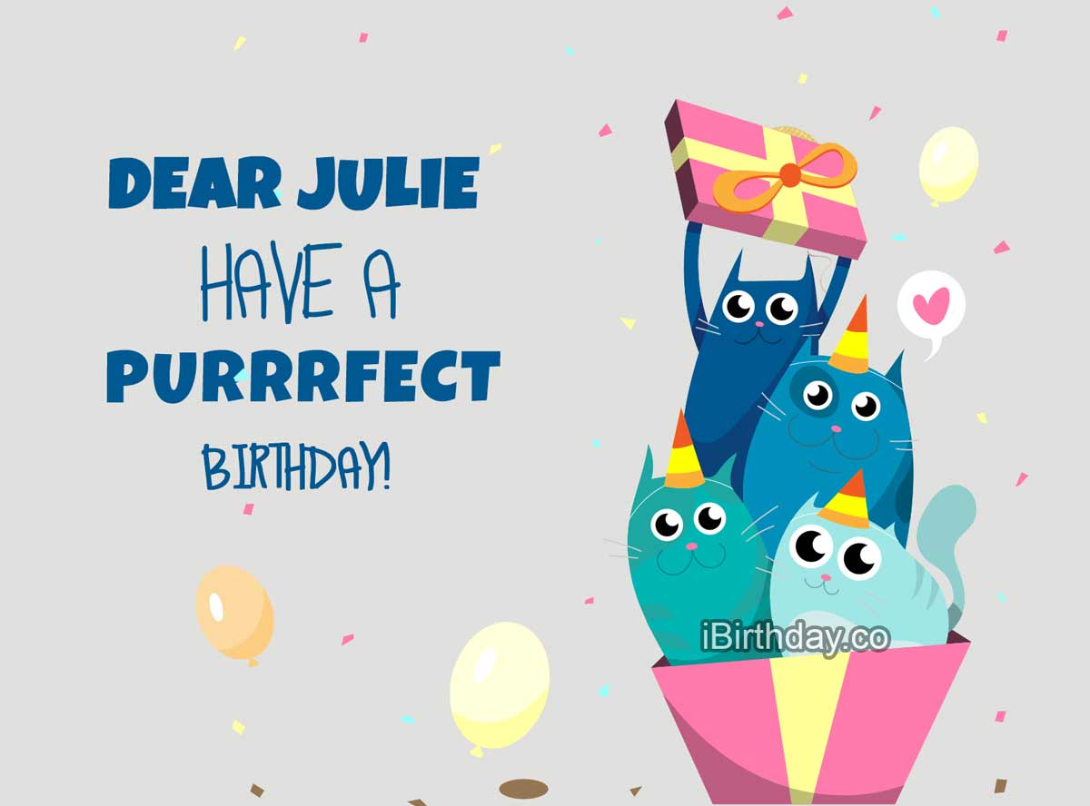 Julie Cats Birthday Meme Happy Birthday