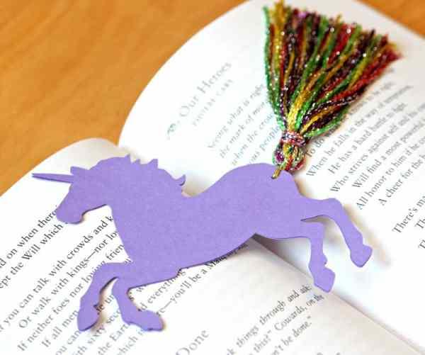 printable unicorn bookmarks # 52