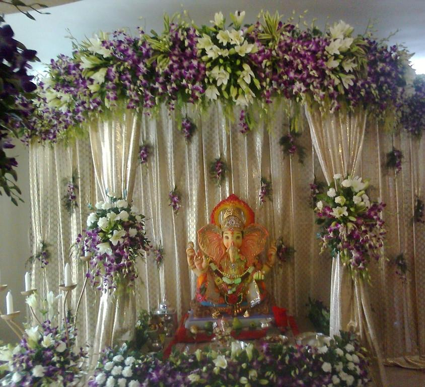 Home Decoration Ideas Ganesh Chaturthi