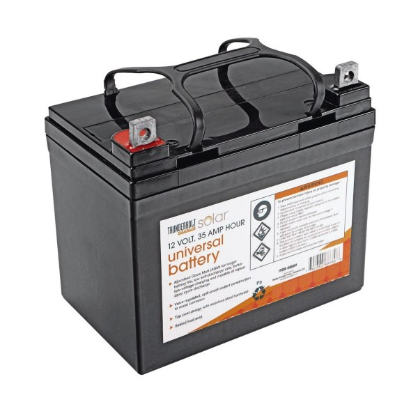 12 Volt  35 Amp Hour Universal Battery