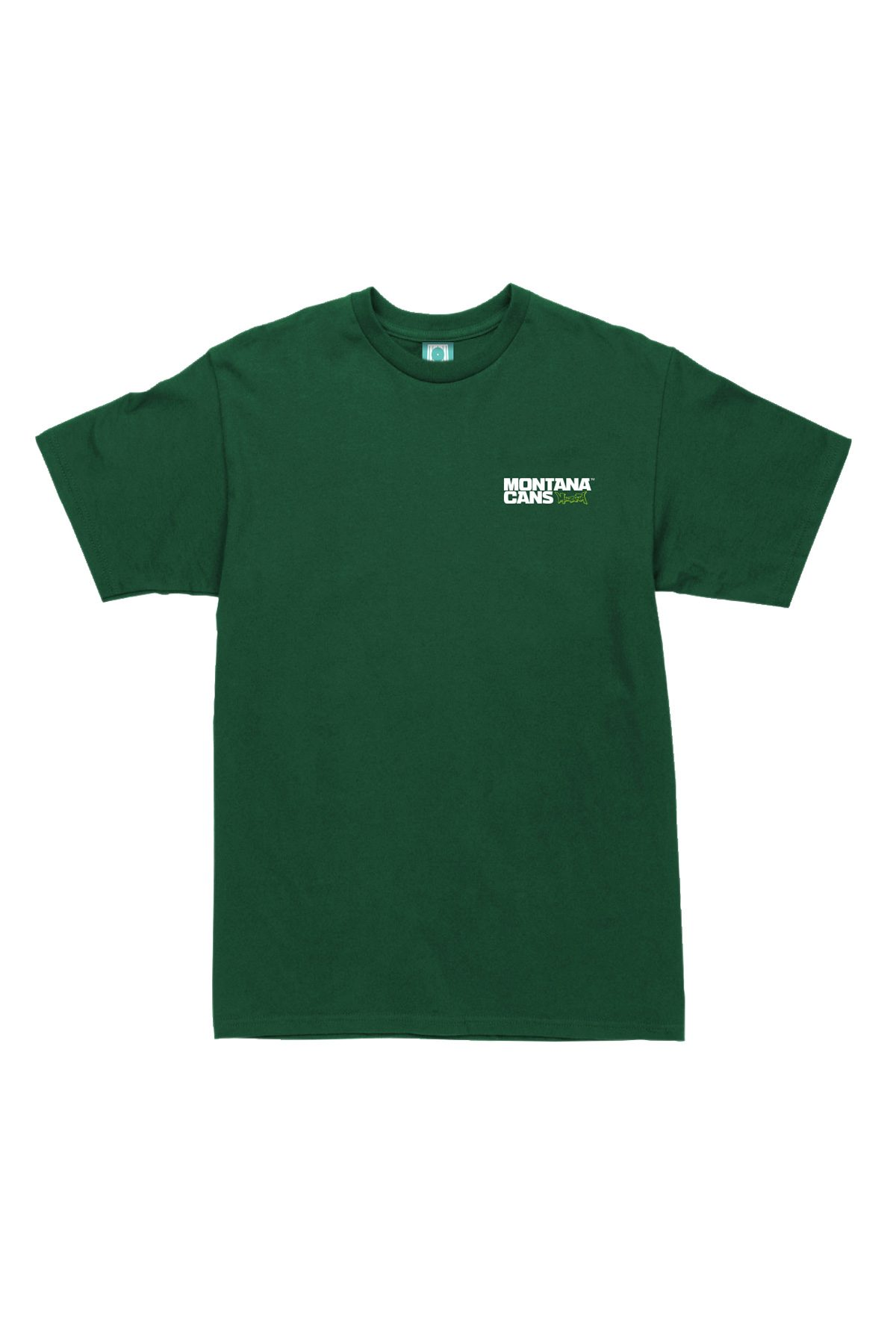 Montana TYPO+LOGO SMALL Forest Green T-Shirt
