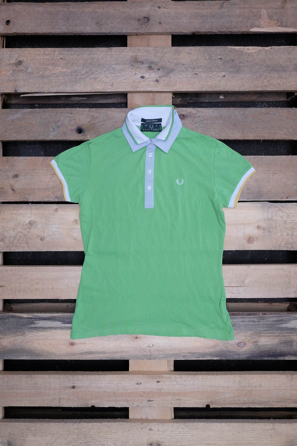 Fred Perry T-SHIRT POLO VINTAGE Green