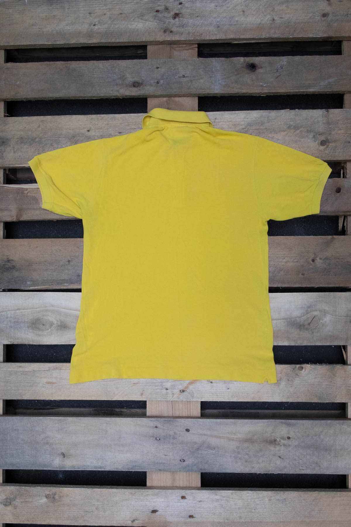 Lacoste T-SHIRT POLO VINTAGE Yellow