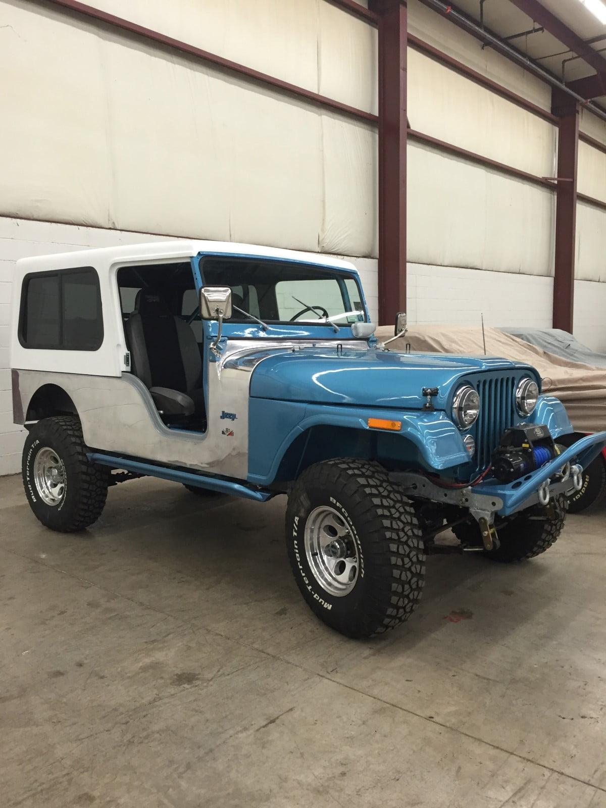 1976 Jeep Top Installation