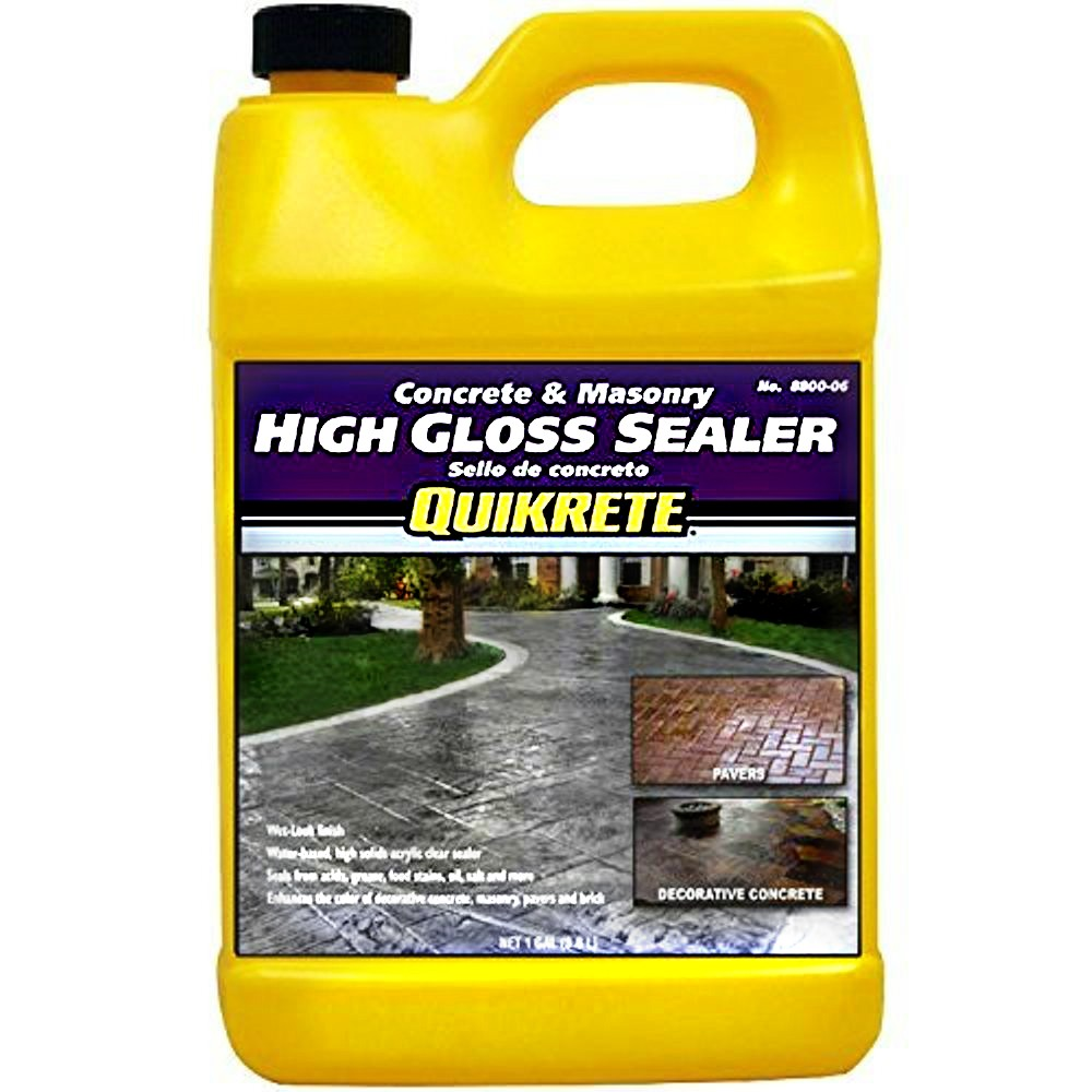 Sealer Quikrete High Gloss Concrete