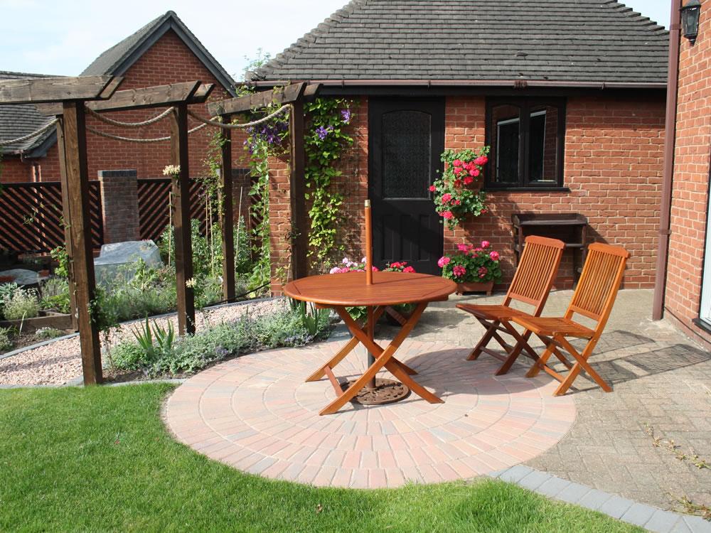Extended Terrace Garden Designs Garden Design Staffordshire