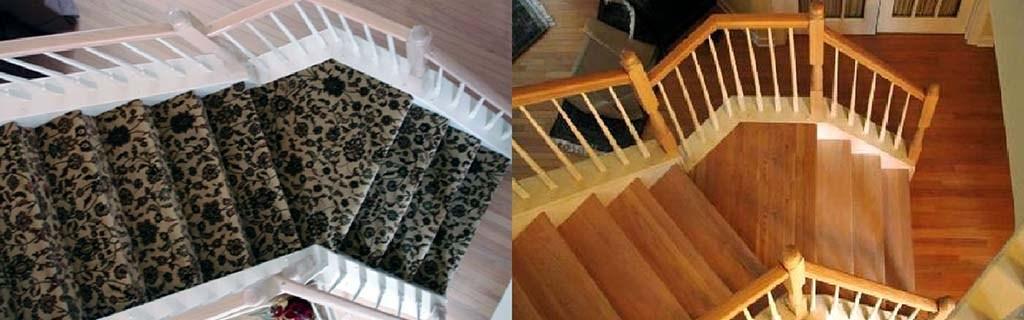 Staircase Refacing Harman Hardwood Flooring Co | Engineered Oak Stair Treads | Stair Nosing | Wood | Modern Retro | Laminate Flooring | Stair Parts