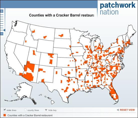Cracker Barrel Locations