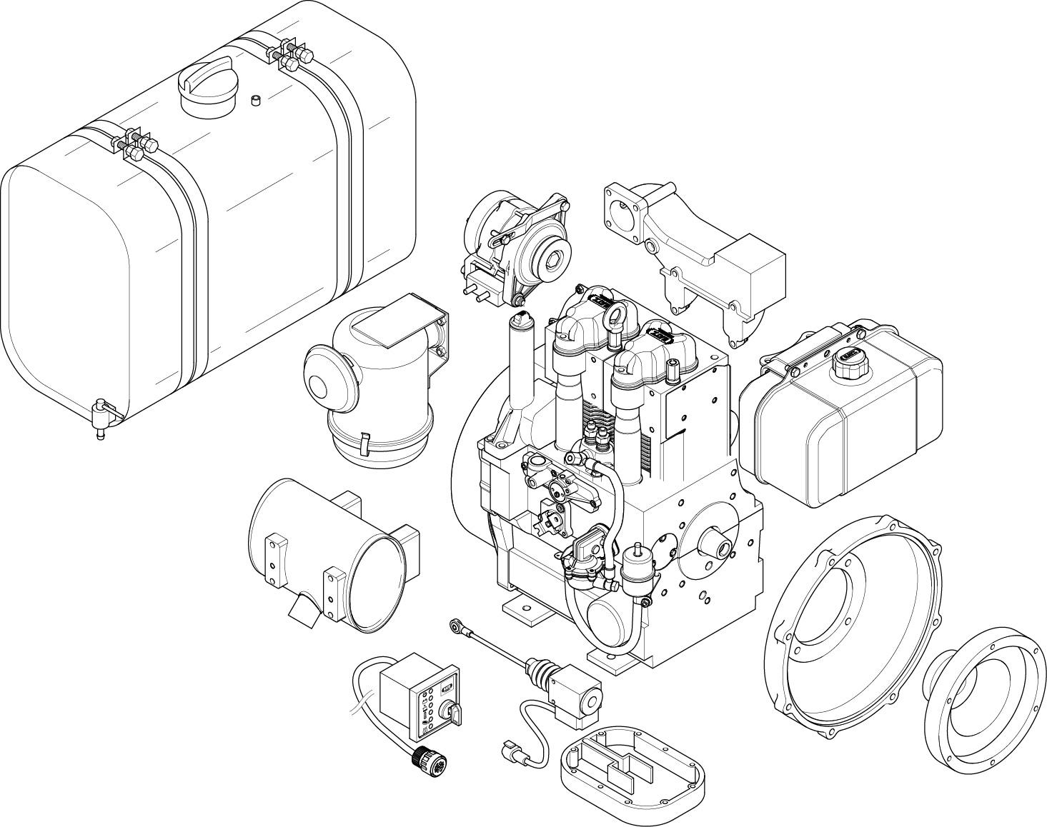 2g40 zusatzausruestung g series 2 cylinder engine industrial diesel engine hatz diesel hatz 2g40 wiring