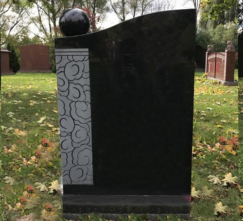Double Monuments Headstones