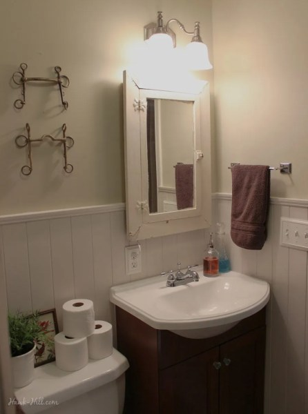300 Bathroom Remodel   Installing Shiplap or Paneling over Tile      300 Bathroom Renovation   featuring Paneling over Existing Tile