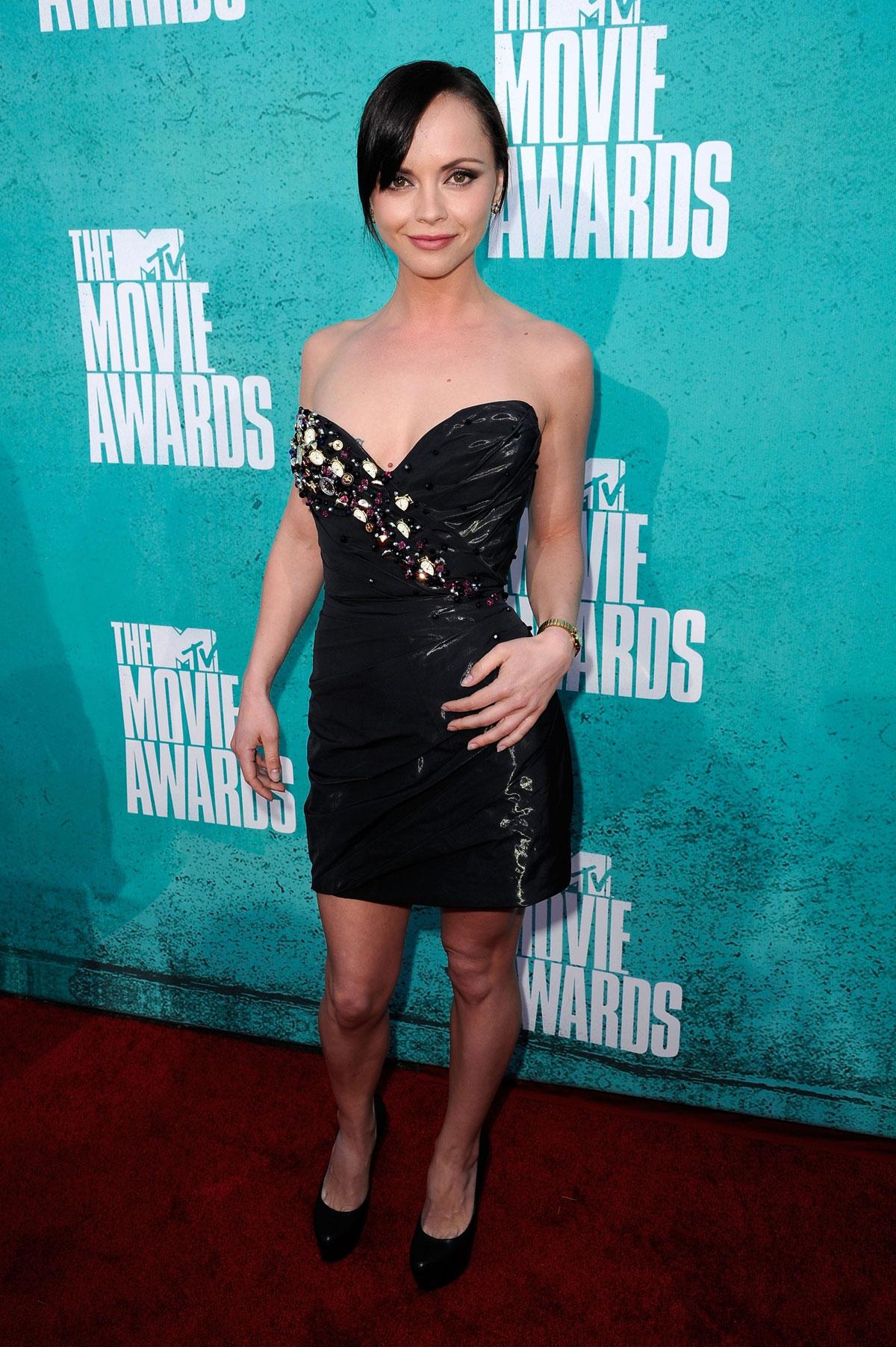 Christina Ricci At Mtv Movie Awards 2012 At Universal