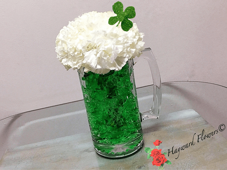 St Patrick S Beer Mug Arrangement